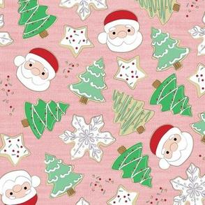 Christmas sugar cookies- rosy cheeks