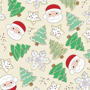 Christmas sugar cookies- cookie dough