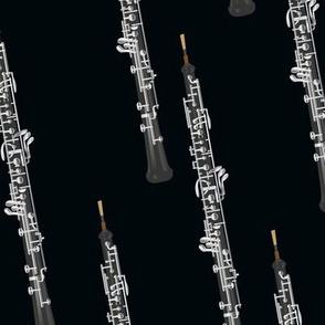 oboe on black
