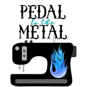 Pedal to the Metal Blue
