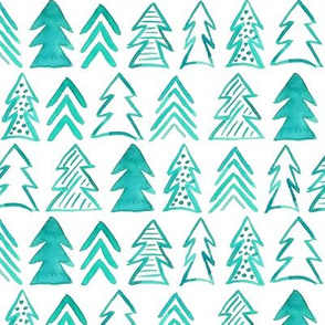 winter trees minimal