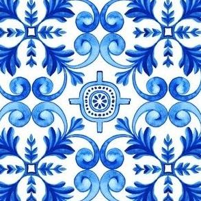 Blue Mediterranean Azulejos