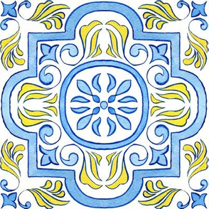 Portuguese Tile Large Scale