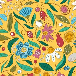 Crazy flower - Yellow - Max