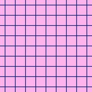 Going Bananas Grid Pink LARGE