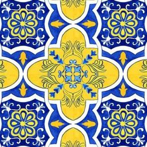 Floral Azulejos