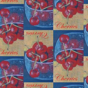 Cherries pastel