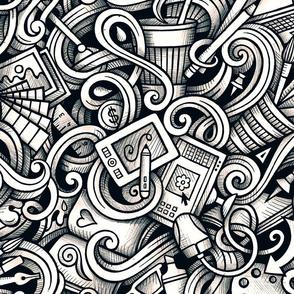 Design Graphic Doodle