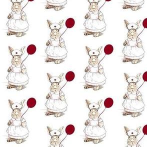 Bunny Rabbit Nurse