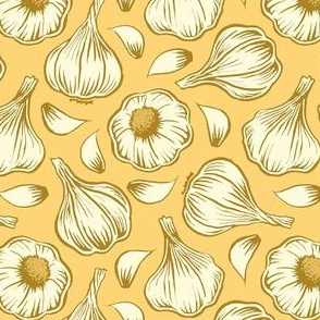 garlic - yellow