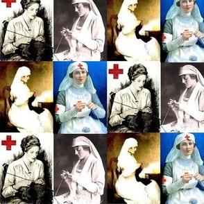Nurse Knitters in History