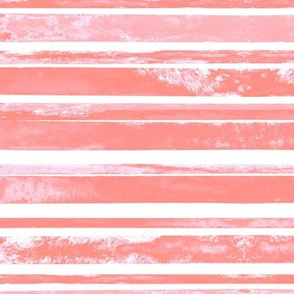 Perfect Pink Watercolor Stripes