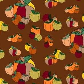 Fall Pumpkins Fabric