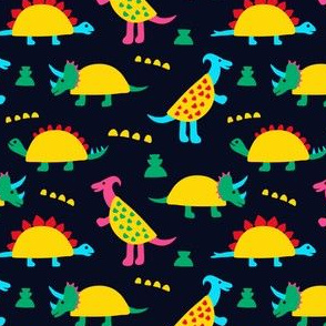 Taco Dinosaurs Small Scale
