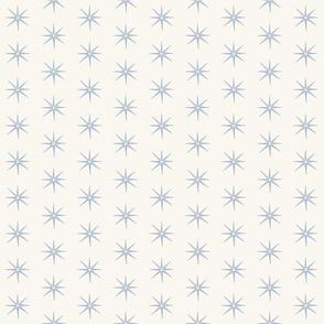 Soft Blue AND CREAM STARS