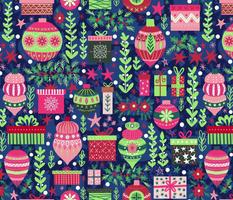 Wonderful Colorful Cerise Christmas