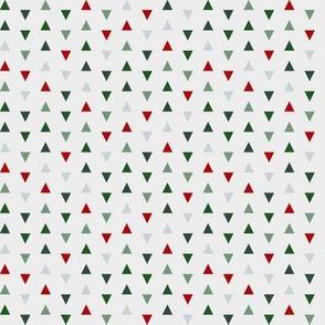 christmas - xmas triangles - christmas geometric pattern