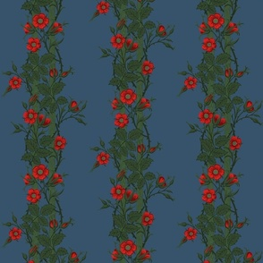 Rambler ~ The William Morris Collection ~  Night Blooms on Ellington