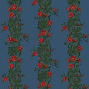 Rambler ~ The William Morris Collection ~  Night Blooms on Ellington