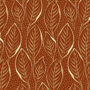 Golden Leaves | Cedar