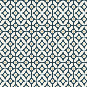 Midcentury Geometric (Blue)
