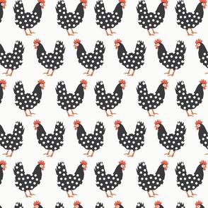 Dot Dot Chicken   White