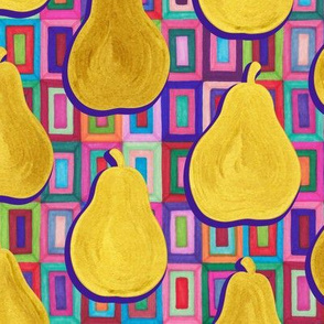 Golden Pears and Psychedelic Rectangles