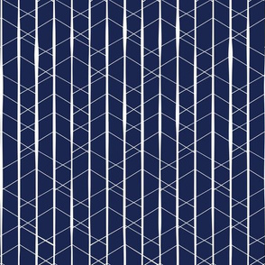 Indigo Geometric by Jac Slade