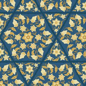 Tiled Floral - large