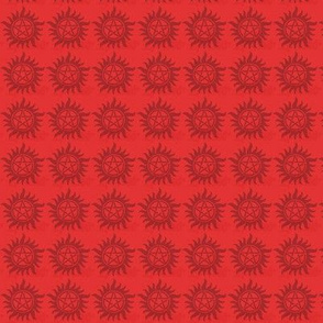Protection Symbol Micro  Red