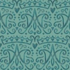 Catholic Marian Auspice pattern
