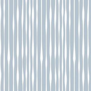 Indigo Organic Stripe soft white by Jac Slade