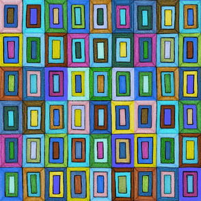 Cool Colorful Rectangles