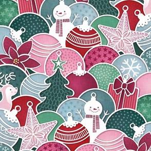 Maximalist Christmas- Retro Holiday Decorations