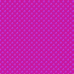 Petite magenta dots triple berries