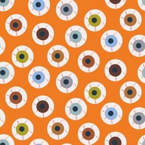 eyeballs halloween pattern by rysunki_malunki