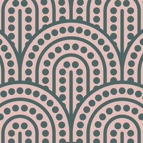 Geometric Pattern: Dotted Arch: Roma