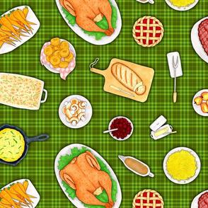 Holiday Dinner - Green