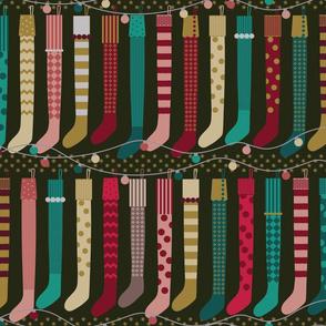 Maximalist Holiday Stockings