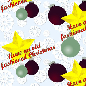 Have an Old Fashioned Christmas by Shari Lynn's Stitches
