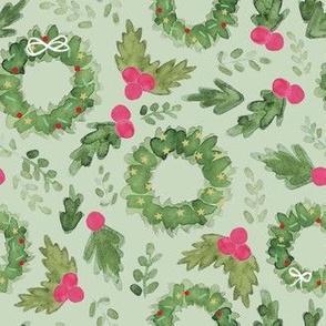 holiday greenery- sage