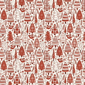 Red & White Christmas - Small - Red, OffWhite-12x16-300dpi-01