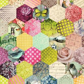 eclectic hexagons