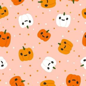 Halloween funny pumpkins
