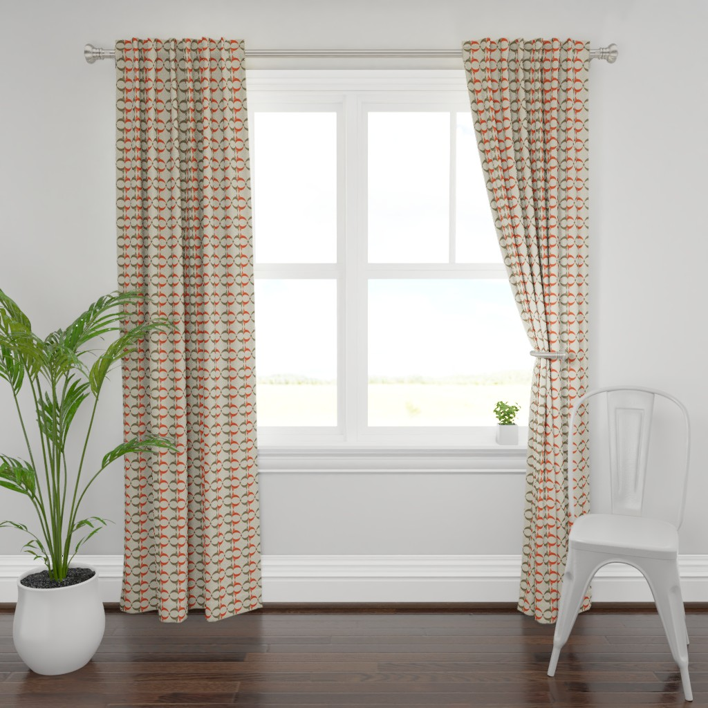 Plymouth Curtain Panel featuring Breast_subee by subee_studio