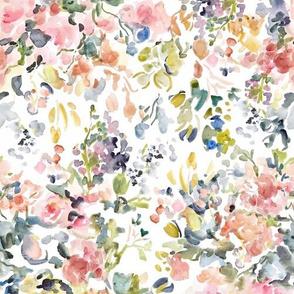 Watercolor Jardin