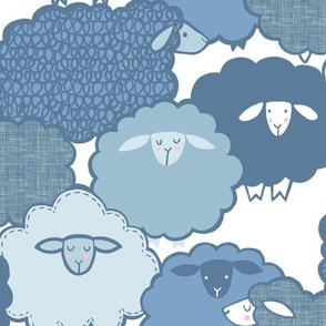 Sheep Shape (BLUE)