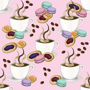 Coffee and Treats Pattern Novelty