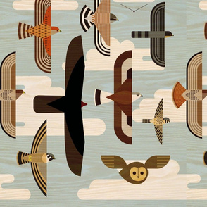 Flying Raptors