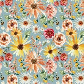 Sunflower Parade Skye 5.25x5.25
